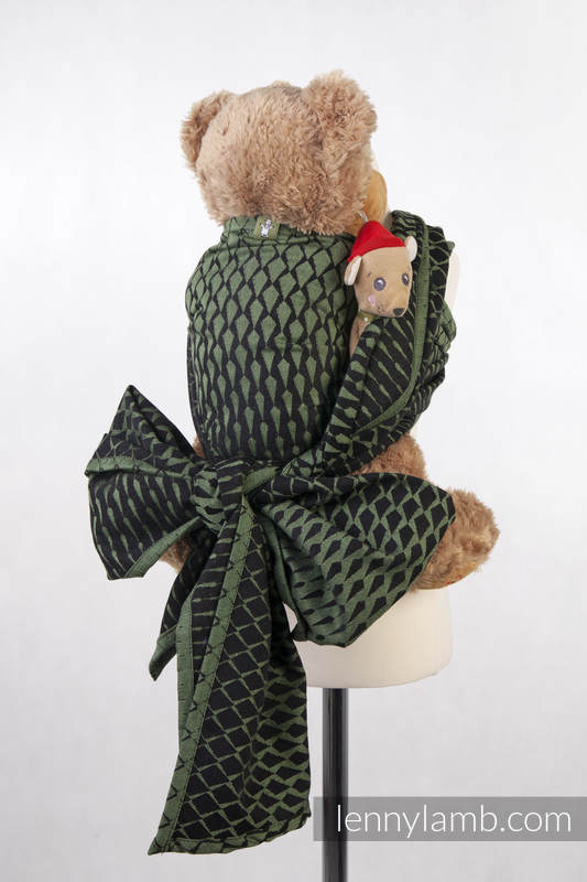 Lenny Lamb - Doll Sling ICICLES GREEN BLACK