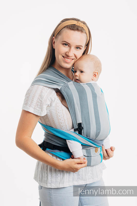 Lenny Lamb - LennyHybrid Half Buckle Carrier MISTY MORNING