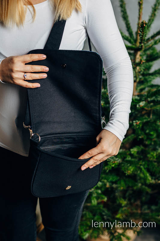 Lenny Lamb - Waist Bag/Bag 2in1 CITY CITY LOTUS BLACK